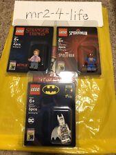 Lego SDCC 2019 Exclusive 3 Minifigure Set - Zebra Batman, Spider Man, Barb