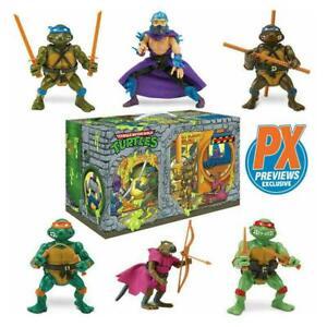 Teenage Mutant Ninja Turtles Sewer Lair Rotocast Action Figure 6-Pack EX