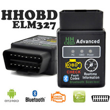 OBD2 II Bluetooth Diagnostic ELM327 PC Car Scanner Torque Android Auto CAN BUS