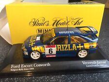 Rare 1:43 Minichamps Belgian Team 434 948206 Ford Escort Cosworth Inter Verreydt