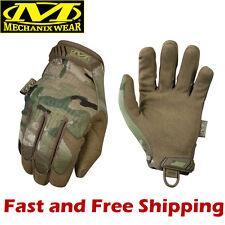 Mechanix Wear MultiCam Original Gloves Camouflage/Tactical/Work/Shooting - Large