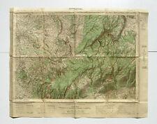 Carte de France au 50.000e -CARPENTRAS -Serv. géographique de l'Armée -Type 1922