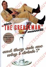 "GREASEMAN BOOK ""THEY ASK ME WHY I DRINK"" & CUSTOM AUTOGRAPHED* PHOTO"
