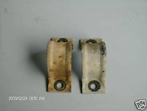 93-02 CAMARO Z28 RS SS FIREBIRD TA FRONT ANTI SWAY BAR BRACE CLAMP BRACKET SET 2