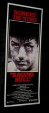 Original RAGING BULL 14x36 Insert Rolled!! ROBERT DENIRO Jake La Motta