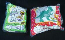 "Buzz Lightyear & Rex Toy Story 2 Figures Vintage 1999 McDonald's Disney ~ 8"""