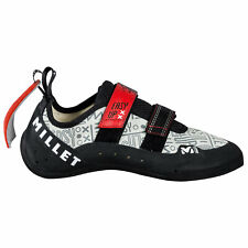 Chaussures Chaussons d'Escalade MILLET Easy Up Junior Climbing Shoes Gris/Rouge