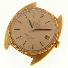 OMEGA CONSTELLATION 168027 18KT YELLOW GOLD VINTAGE WATCH 100% GENUINE NOS