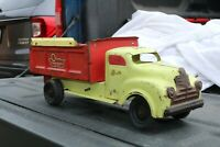 Lincoln Toy Olsen Truck Bodies Dump Truck - Made in Canada - pressed steel
