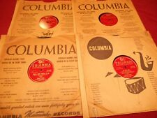 (4) 78'S BY DINAH SHORE ON COLUMBIA 1946-1947