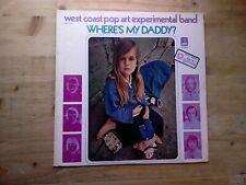 West Coast Pop Art Experimental Band Wheres My Daddy 1A/1B Vinyl Record AAS 7004