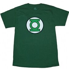Green Lantern Glow Logo Adult T-Shirt New