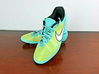 Nike Magista Boys Football Boots Size UK 5 EUR 38 Turquoise and Yellow 651551