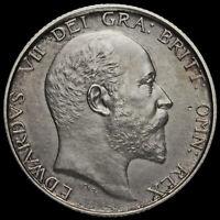 1902 Edward VII Silver Matt Proof Shilling