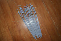 12 x Spring Sprung Motion Stake Wobbler Peg Stick for Crow Dove & Pigeon Decoy