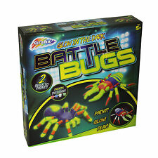 Grafix-brillano al buio-BATTAGLIA Bug-PAINT luminescenza PLAY - 5 anni +