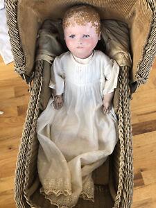 Antique  Martha Chase Little Boy Girl Oil Cloth Adorable!!SWEET!