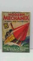 Early October 1936 Modern Mechanix Magazine Book Hobbies And Inventions 15 Cents