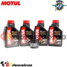 TAGLIANDO OLIO + FILTRO MOTUL 7100 10W30 MV AGUSTA 750 F4 S 1+1 EVO 3 2003