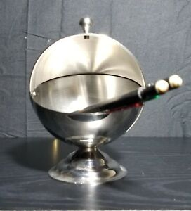 Stainless Steel Sugar Bowl with Handle 200 ml