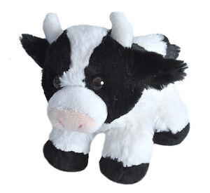 "HUG'EMS MINI COW PLUSH SOFT TOY 7"" STUFFED ANIMAL BY WILD REPUBLIC"