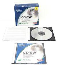 Office Depot CD-RW blank media 10 pack 679-792 (New)