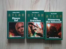Perry Rhodan  ATLAN grüne Reihe Hollenwelt Triologie