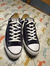 New Converse All Star Navy Blue Mens Size 18 UK