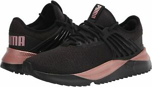Women's Shoes PUMA PACER FUTURE LUX Athletic Sneakers 38060601 BLACK / ROSE GOLD