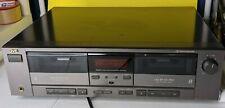 working Jvc Stereo Double Cassette Deck model Td-W205 Dolby Hx Pro