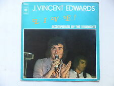 J. VINCENT EDWARDS Live ! Accompanied by THE MIDNIGHTS S65262