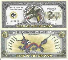 Fantasy Money Million Note Year of the Horse Chinese Zodiac