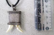 VINTAGE Nagaland Silver Warrior Necklace