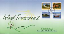 1998 Guernsey Self Stick Definitive (2) First Day Cover