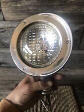 Vintage Chrome Spotlight Adjustable Mirror Vintage Accessory