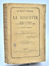 Commune de Paris, Abbé Lamazou : LA PLACE VENDOME ET LA ROQUETTE - 1872