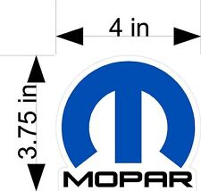 MOPAR dodge logo car & truck vehicle decals/stickers