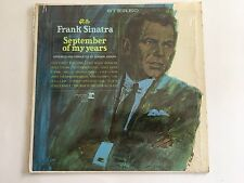 "FRANK SINATRA - ""September Of My Years"" LP - 1965 ORIG US PRESS - MONO # F-1014"