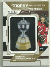 2019 19-20 OPC O-PEE-CHEE TROPHY WINNERS PATCH NORRIS SCOTT NIEDERMAYER #P-53