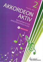 Akkordeon Noten : Akkordeon Aktiv 2 (Alexander Jekic) - Spielstücke zur Schule