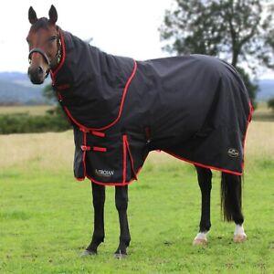 "Rhinegold Aspen Full Neck Heavyweight Turnout Horse Rug 4/'9/"" 7/'0/"" SENT DPD 24"