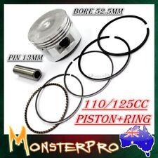PISTON RINGS 52.4mm 110cc & 125cc Pit Dirt bike, Quad Buggy Lifan loncin ducar