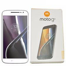 BNIB Motorola Moto G4 XT1622 16GB White Factory Unlocked Dual-SIM 4G LTE GSM New