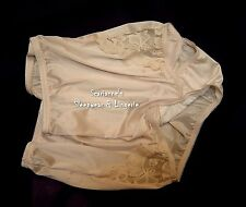 VANITY FAIR PERFECTLY YOURS LACE NUDE 13001/13801 NYLON BRIEFS PANTIES~8/XL~NEW