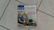 septembre 2019 KINE revue  professionnelle:kine actualité magazine  port gratuit