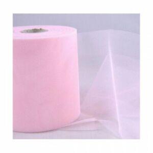 Rollo Tul Suave 12.5x100 Metros Color Rosa 0ZD4