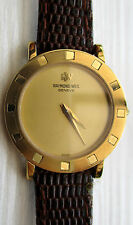 Vintage ladies *RAYMOND WEIL* Quartz Swiss Made, 18k Electroplated, Great
