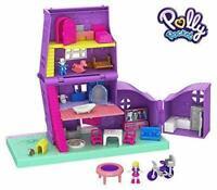 Polly Pocket Playset Refermable Maison GFP42 Pollyville Poupée Jeu Petite Fille