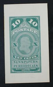 CKStamps: US Stamps Collection Scott#PR2P1 Unused LH NG Proof