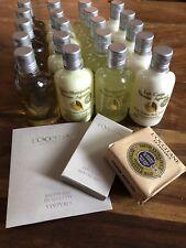 L'Occitane Citrus Verbena Shower gel, Shampoo, Conditioner, & Lotion set 1000ml